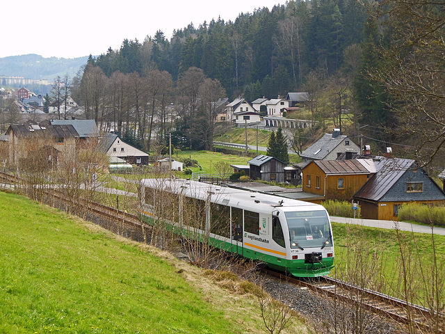 (120/365) Regiosprinter der Vogtlandbahn in Zwota