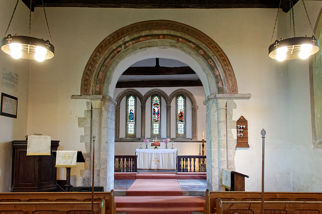 Sutton, Essex - Chancel Arch in All Saints' Church