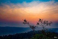 Dusk over Tableland, Panchgani.
