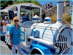 Marseille :  Il trenino stradale che porta a Notre Dame de la Garde