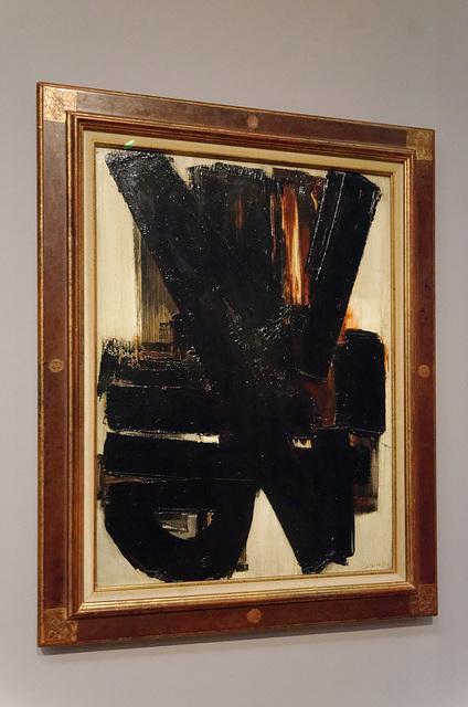 """""""Composition"""" (Pierre Soulages - 1957)"""