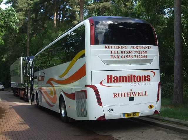 DSCF7592 Hamilton's of Rothwell H8 UKA (FJ61 EYH) at Barton Mills - 10 Jun 2017