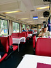 Train to Prague 2019 – Inside the dining car of the Berliner