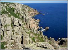 Cornish granite and Mediterranean blue!
