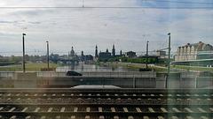 Train to Prague 2019 – Dresden skyline