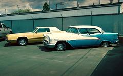 """1955 Oldsmobile Super 88, """"Holiday"""" model"""