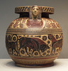 Corinthian Pyxis with Animals in the Getty Villa, June 2016
