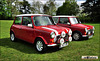 1991 & 1993 Rover Mini Coopers - H884 AAG & L402 GDC