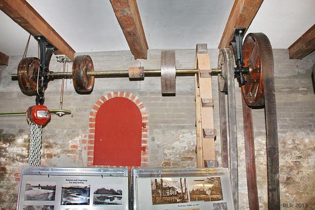 Barmstedt, Rantzauer Wassermühle, Transmission