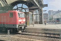 Train to Prague 2019 – DB Engine 143967 at Dresden