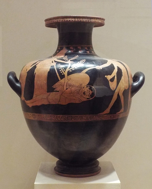 Red-Figure Hydria Attributed to the Nausikaa Painter in the Virginia Museum of Fine Arts, June 2018