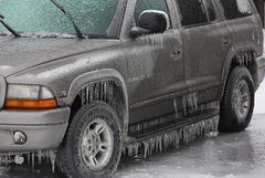 Iced SUV