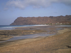 Southwerstern coast of São Vicente Island, Cape Verde.