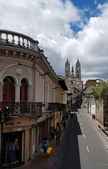 Casco antiguo de Quito-Ecuador