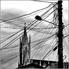Ilhéus : un bel groviglio di fili...ma anche una bella chiesa !