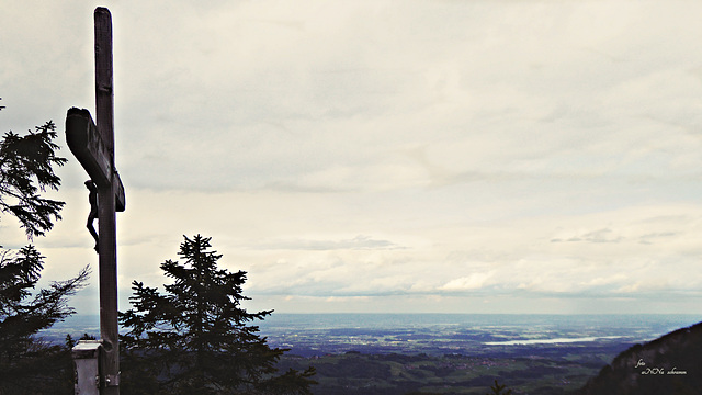 Gipfelkreuz Pastaukopf (1326 m)