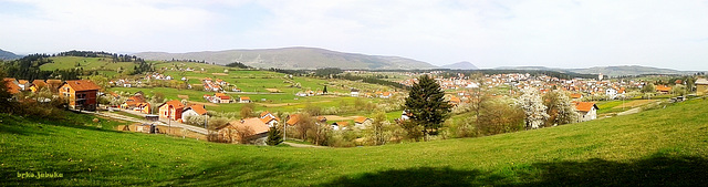 My little town in the spring