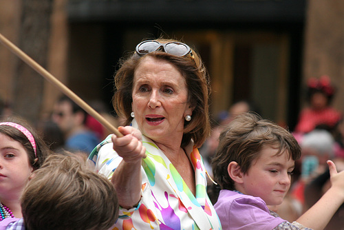 San Francisco Pride Parade 2015 - Nancy Pelosi (5611)