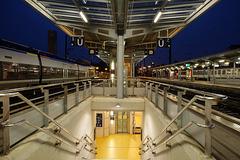 BESANCON: Quai B et C de la gare Viotte