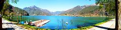 Lago di Ledro von SE nach NW. ©UdoSm