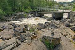 Crossing Dog Falls. HFF