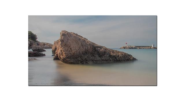 Une plage à Carro.