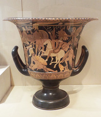 Etruscan Krater Attributed to the Nazzano Painter in the Virginia Museum of Fine Arts, June 2018