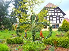 Österlicher Vorgarten - paska antaŭĝardeno
