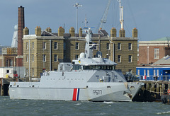 Cormoran at Portsmouth (2) - 31 March 2015