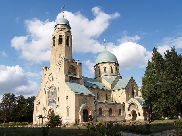 Храм Покрова Пресвятой Богородицы в Пархомовке / Ortodox Church in Parkhomovka