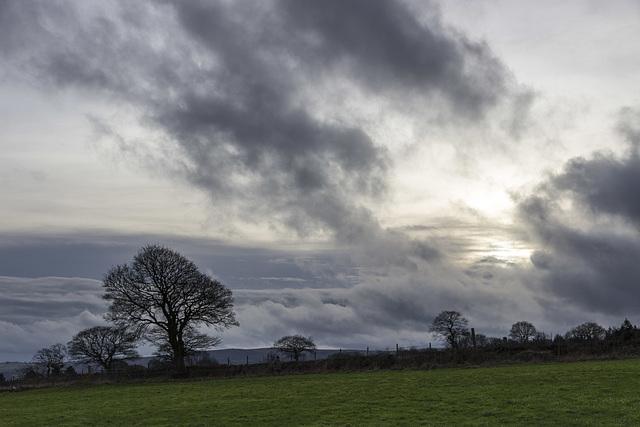 Whirlow Farm cloudscape 2