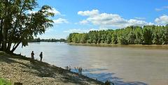 La Garonne...