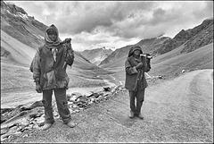 Les forçats volontaires de l'Himalaya