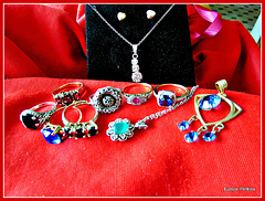 Rings and Pendants.