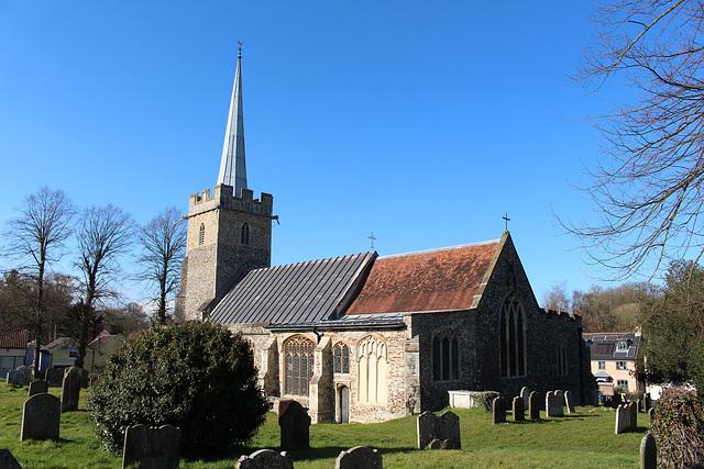 Saint Peter's Church, Yoxford, Suffolk