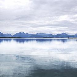 Norway. Hamarøy. Skutvik. Vestfjord.  201408