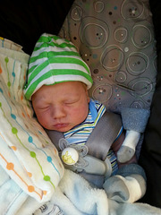 Welcome to the world Isaac Alexander Jackson