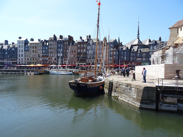 On the Waterfront at Honfleur