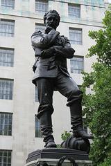 general gordon statue , victoria embankment, london (3)