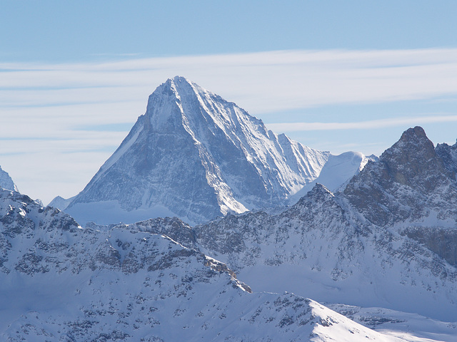 Dent Blanche from Mont Fort