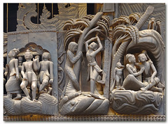 Yoke Sone Kyaung: Details of the Facade