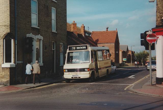 Richmond's M588 BFL in Royston - 12 Jun 1997