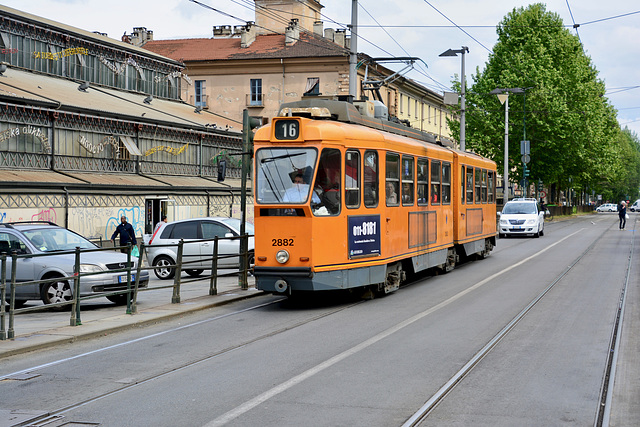 Turin 2017 – Tram 2882 on line 16