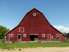 Love an old, red barn