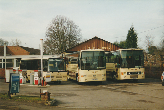 Richmond's 649 ETF, YER 469 (N994 EYA) and 316 UVX (J208 NNC)  - 15 Feb 1998