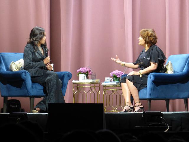Michelle Obama, Elizabeth Alexander