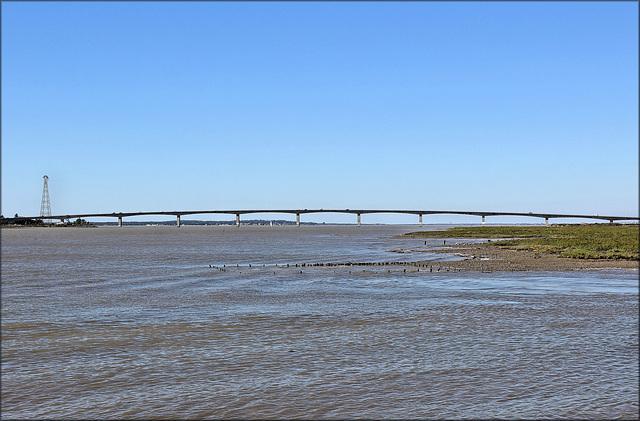 Marennes (17) 28 septembre 2015. Pont de la Seudre.