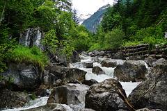 In der Höhenbachschlucht - In an alpine gorge