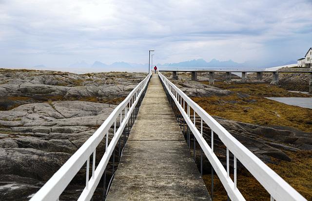 Norway. Hamarøy. Tranøy fyr. 201408