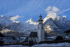 Parish Church of Lofer (Austria)